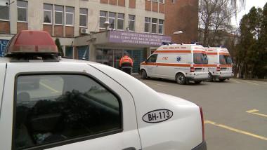 politie ambulanta spital