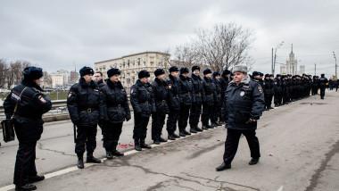 politie rusa - getty