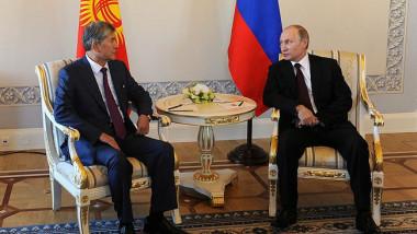putin cu atambaev - kremlin.ru