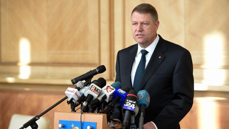 iohannis aeroport declaratii - presidency.ro