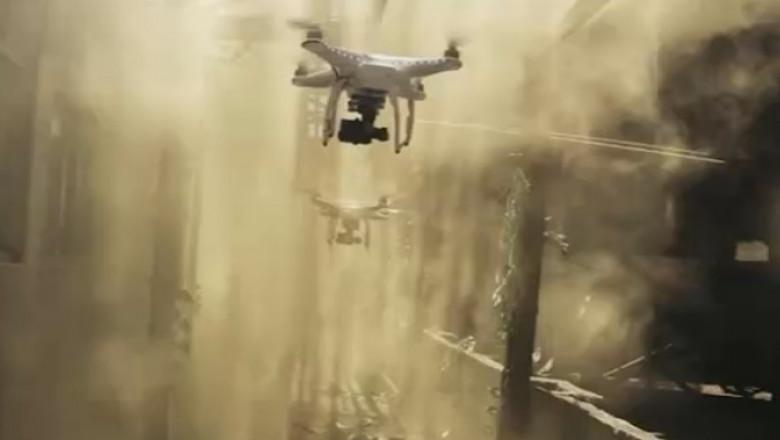 cursa cu drone