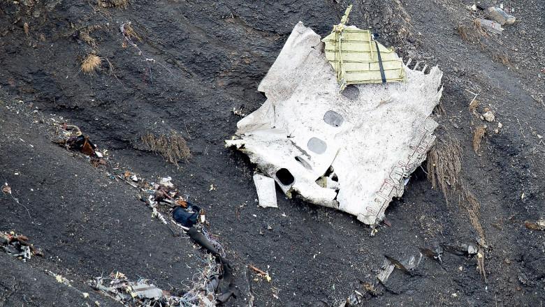 accident germanwings bucata epava avion gettyimages