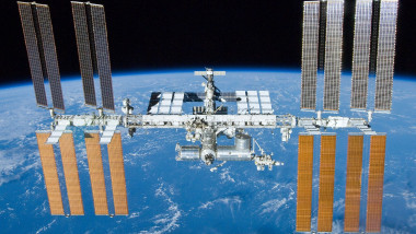 International Space Station after undocking of STS-132