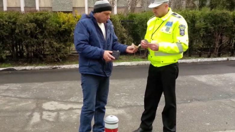 sofer baut politist