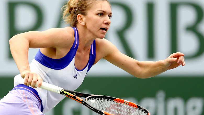 simona halep indian wells 2015 - guliver gettyimages-2