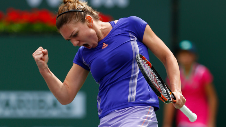 Simona Halep Indian Wells 2015 - Guliver GettyImages 1