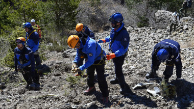 germanwings crash site getty