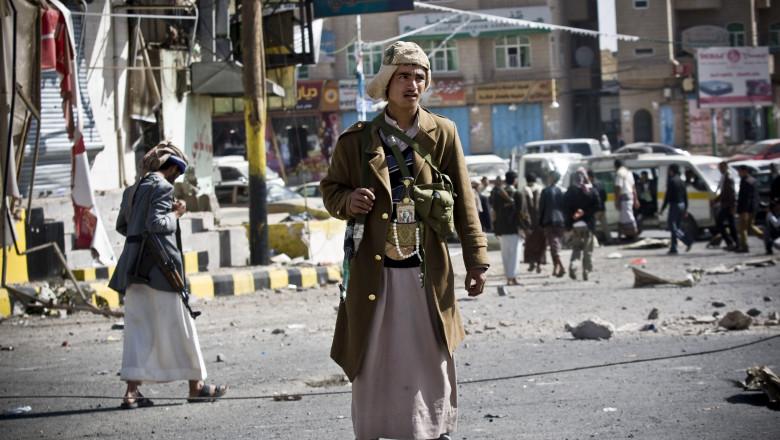 yemeniti houthi - 7309403-AP Mediafax Foto-Hani Mohammed-1