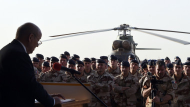 soldati francezi mali - 7208375-AFP Mediafax Foto-DOMINIQUE FAGET