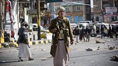 yemeniti houthi - 7309403-AP Mediafax Foto-Hani Mohammed
