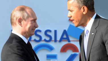putin si obama - 6005103-AFP Mediafax Foto-YURI KADOBNOV 1