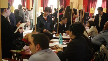 bursa locurilor de munca 5284550-Mediafax Foto-Liviu Chirica