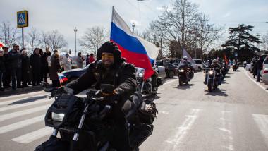 Lupii Noptii motociclisti rusi - Guliver GettyImages