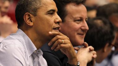 Obama Cameron-AFP Mediafax Foto-Gregory Shamus