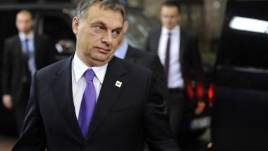 Viktor Orban la Bruxelles mfax