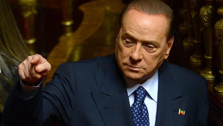 Silvio Berlusconi - AFP Mediafax Foto-FILIPPO MONTEFORTE