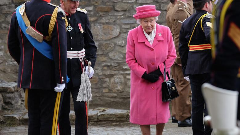 regina marii britanii in ziua nasterii nepoatei - getty