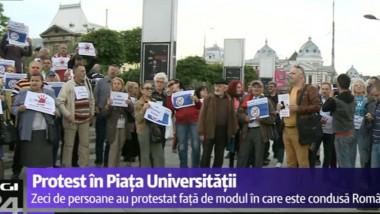 protest universitate 3 mai