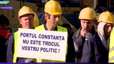 proteste portuari