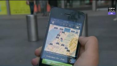 uber captura aplicatie