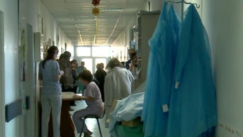 spital hol oameni
