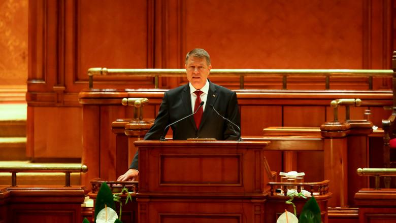Klaus Iohannis depune juram ntul de nvestitura la Parlament ovidiu micsik inquamphotos.com