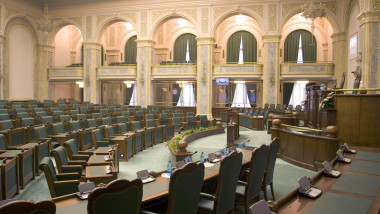 sala senat goala sedinta mediafax