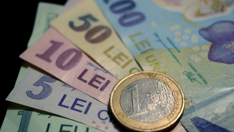 curs schimb valutar lei euro - mediafax