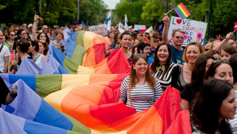 Mars LGBT Bucuresti-Mediafax Foto-Andreea Balaurea