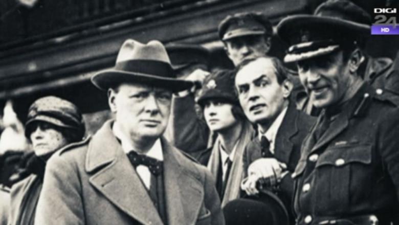 Winston Churchillfara scris