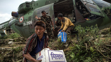 elicopter nepal getty
