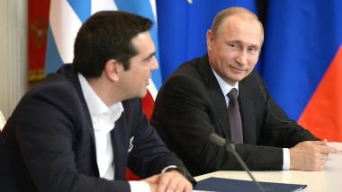 putin se uita frumos la tsipras - kremlin.ru