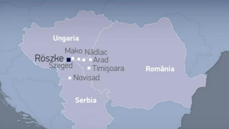 harta reportaj ungaria