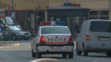 masina mica de Politie trafic
