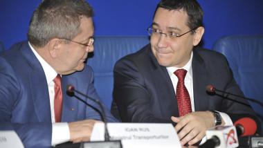 Ioan Rus si Victor Ponta 7311175-Mediafax Foto-Dan Duta