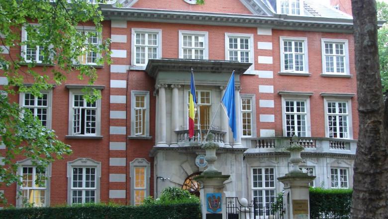 ambasada romaniei la londra