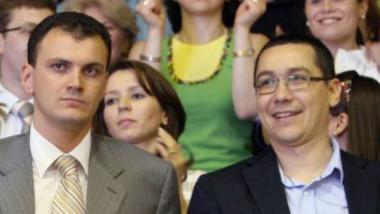 Sebastian Ghita si Victor Ponta