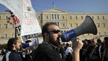 greva grecia mediafax