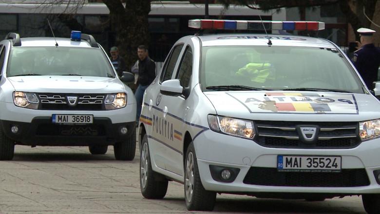 masini de Politie defilare