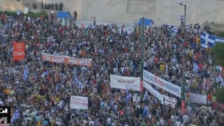 greci manifestatie