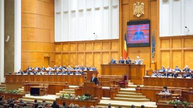 klaus in parlament