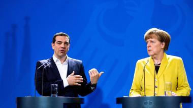 tsipras merkel declaratii - getty