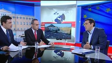 tsipras la tv
