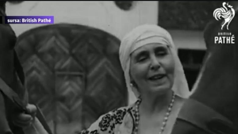 british pathe - regina maria