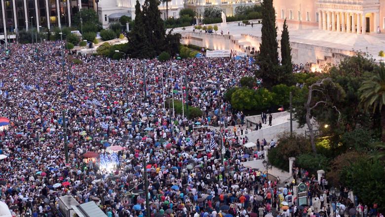 Manifestatii Grecia - GettyImages-479063196