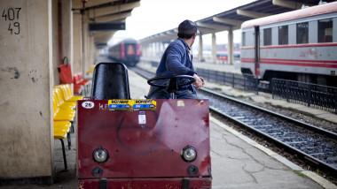 trenuri gara iasi -Mediafax Foto-Andrei Nacu