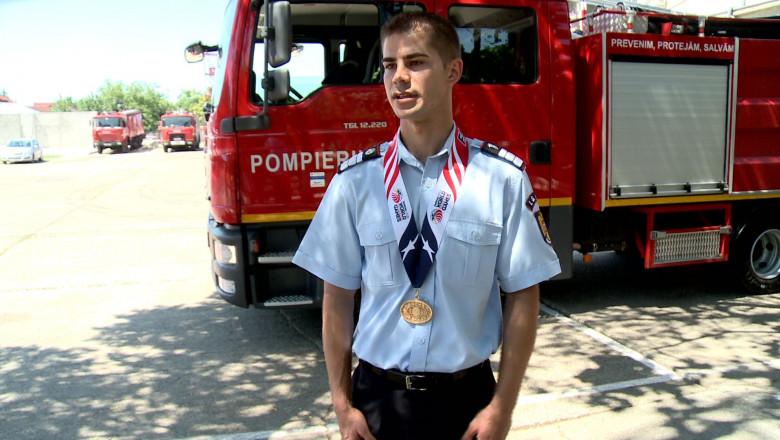 pompier campion