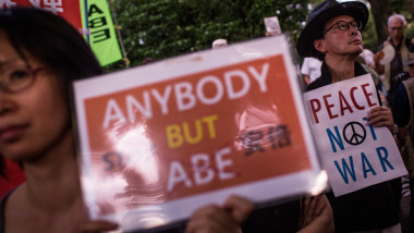 protest japonia tokyo getty