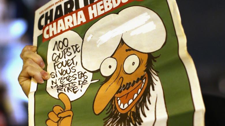 Coperta Charlie Hebdo - Guliver GettyImages