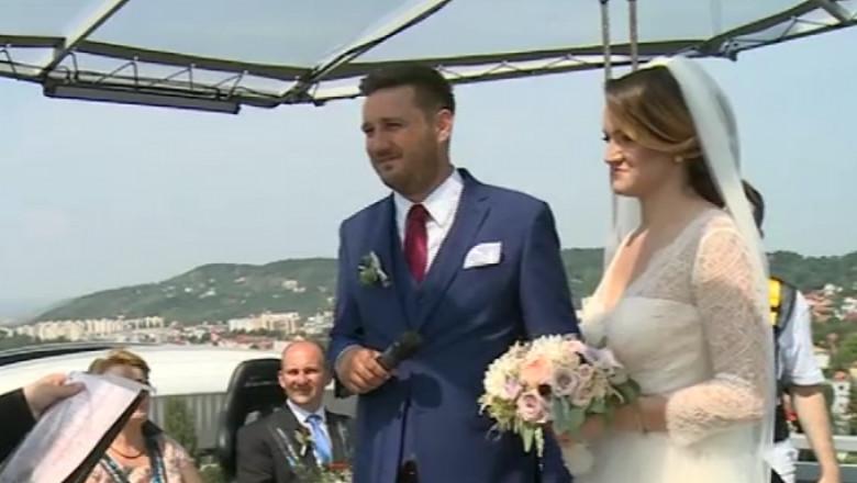 nunta in cer